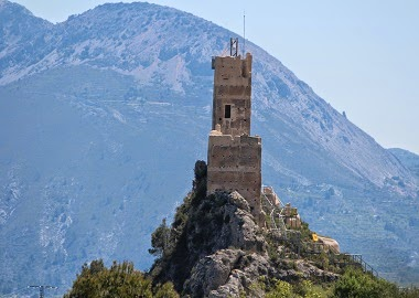 El Castell de Penella.Cocentaina, el Comtat.