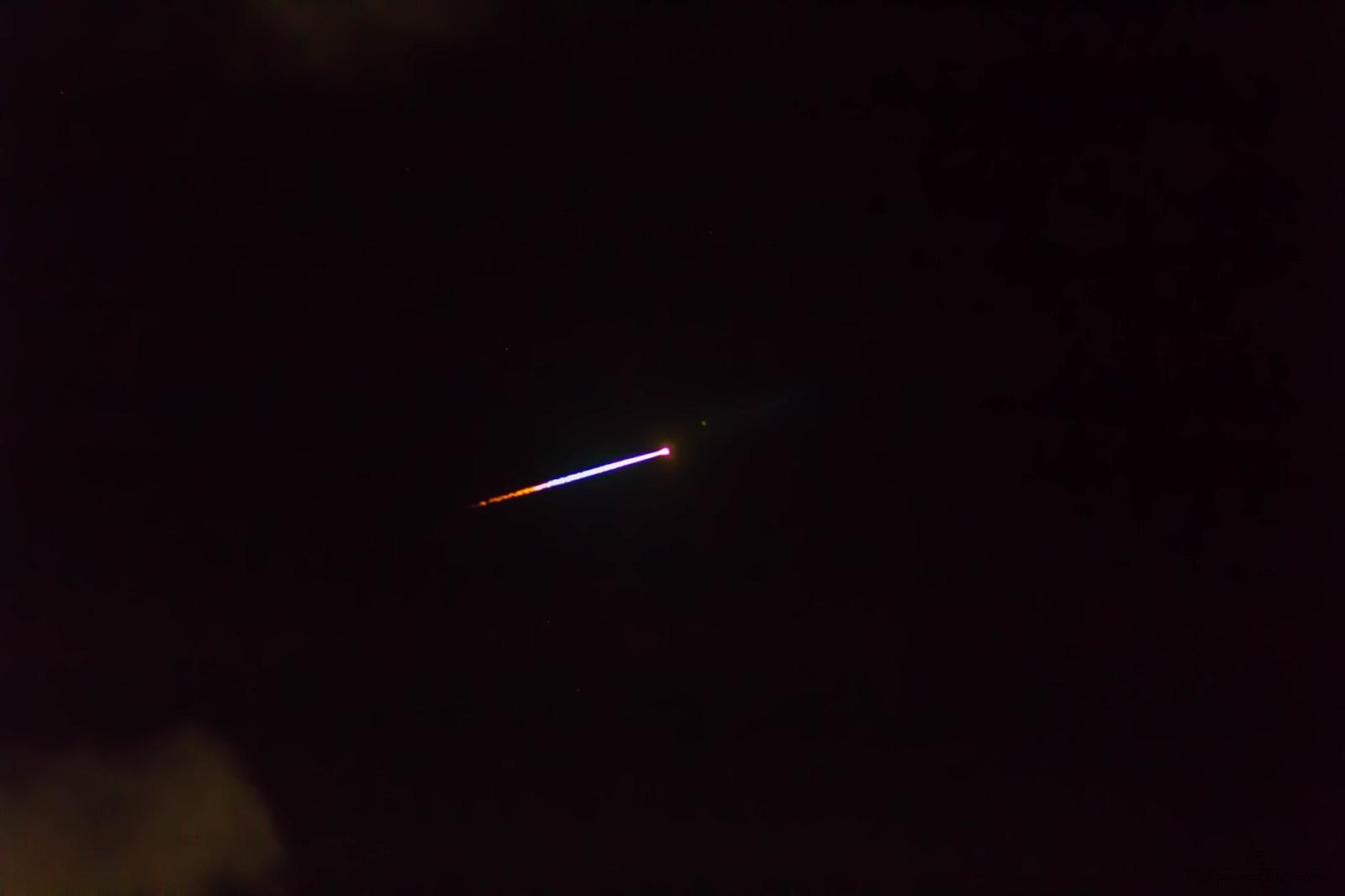 Image 2 - Meteor - Chennai, India, 16.October.2014 1.36 am IST