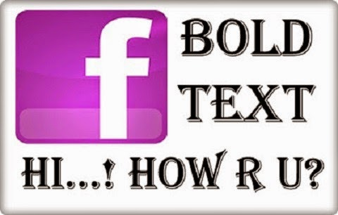 How to Write Bold Blue Text on Facebook and Get More Likes image photo