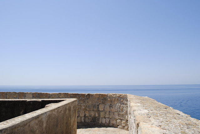Sea View from the Old Wall - Dubrovnik, Croatia