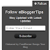 Follow and Subscribe Widget