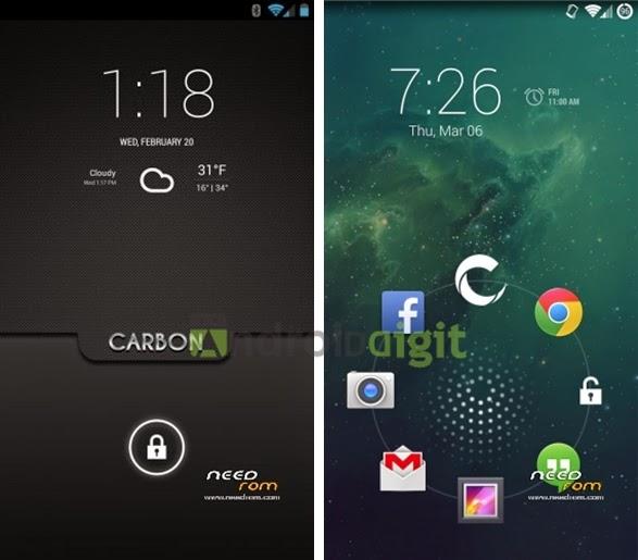 Custom Rom Samsung Galaxy S5 - Carbon Rom Kitkat