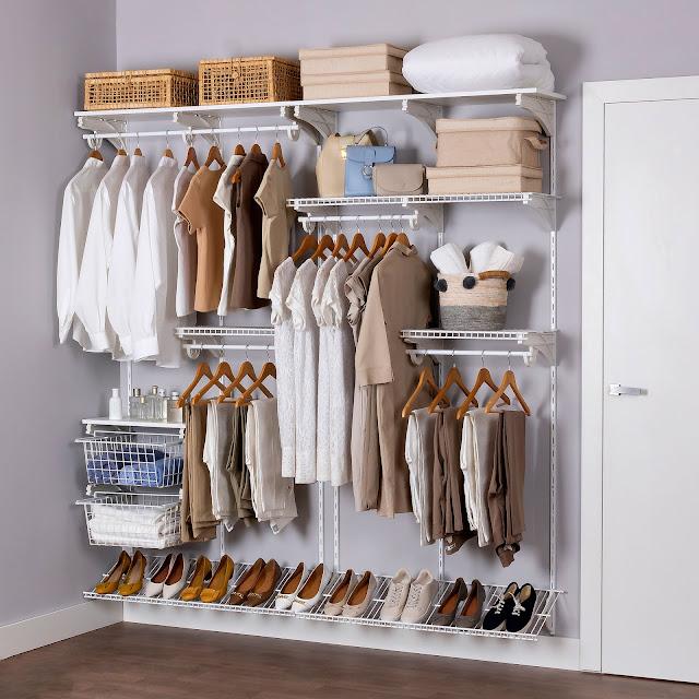 Armário aramado kit 14 - Closet ou quarto