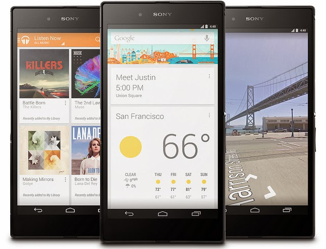 Google Has Unveiled Sony Z Ultra