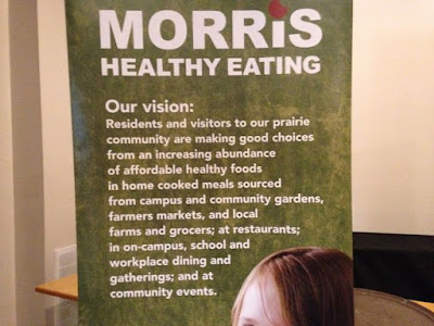 Morris' healthy eating vision