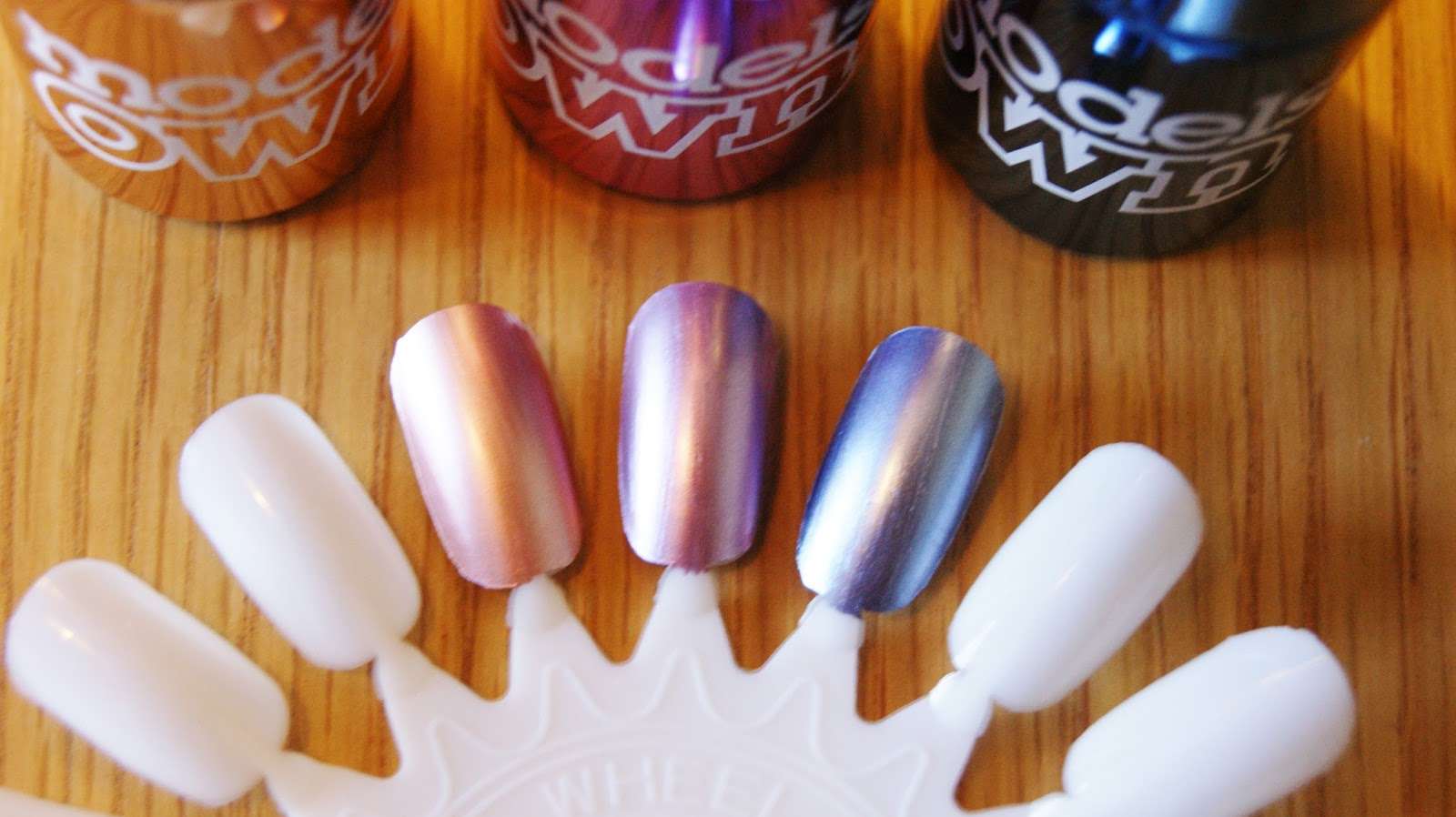 Models Own Chrome Nail Polish Swatches