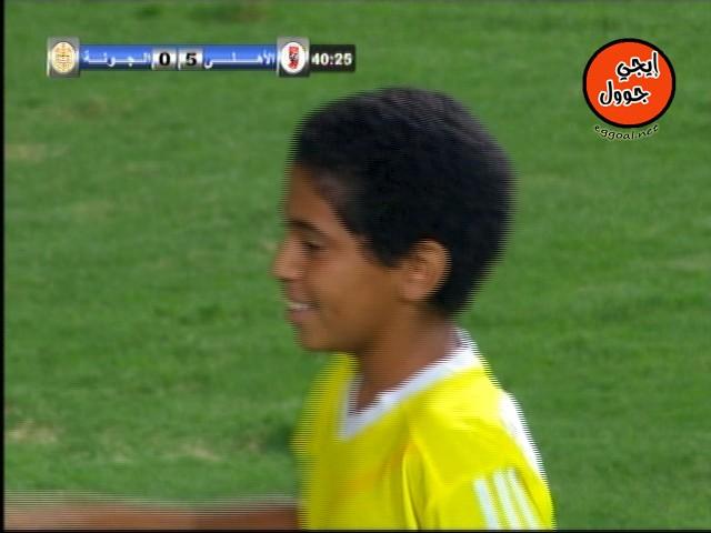 زياد الصحيفى لاعب الجونة اصغر لاعب فى التاريخ من مواليد 2001 يشارك فى مباراة رسمية