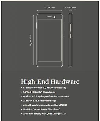 Blackphone 2 Smartphone Anti Sadap
