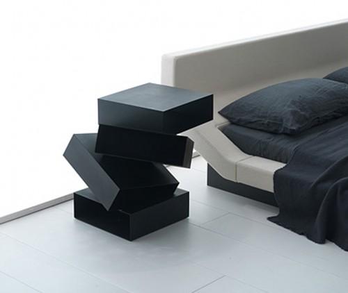 Multinotas dise o moderno de mesas de noche - Mesitas de noche de diseno ...