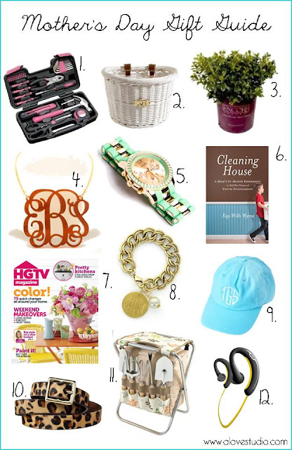 Mother's Day gift list ideas
