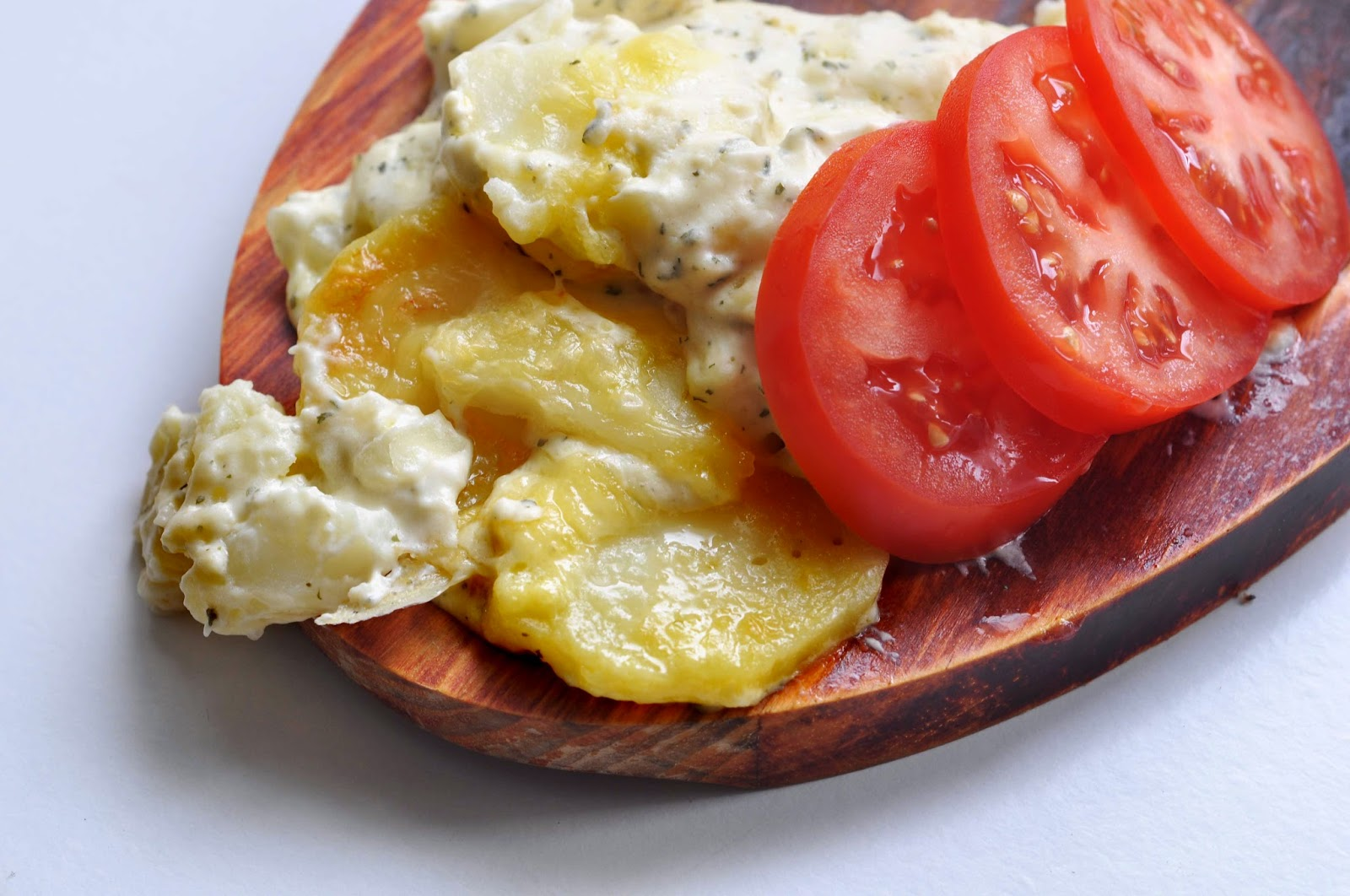 Garlic Potatoes (Dauphiniose) ~ Simple Food