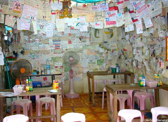 Restaurant de Pad Thai à Koh Phi Phi