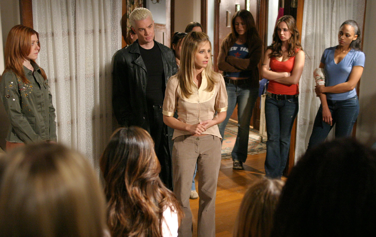 the life lessons in the tv show buffy the vampire slayer Watch buffy the vampire slayer - season 7, episode 1 - lessons: the re-opening of sunnydale high school feels just like old times for buffy as some undead students and faculty rise up.