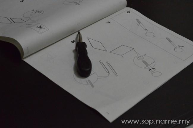 Projek pasang almari IKEA - PAX Bahagian 1
