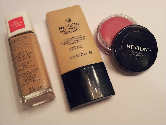 Revlon Nearly Naked, Revlon Photoready Skinlights, Revlon Blus Photoready Cream
