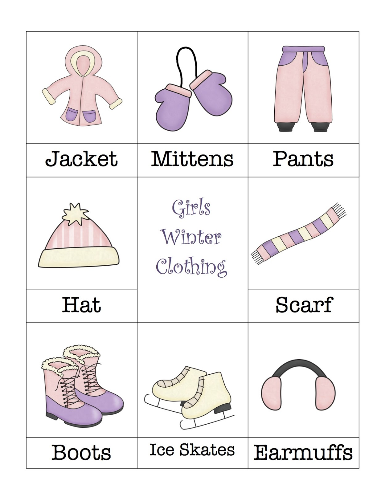 There is also a boy page of clothing like the one above.