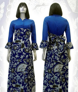 a MODEL BAJU BATIK WANITA MODERN
