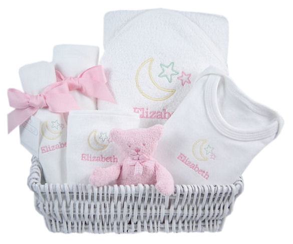 baby gift baskets and I am sure you know whythe celestial theme