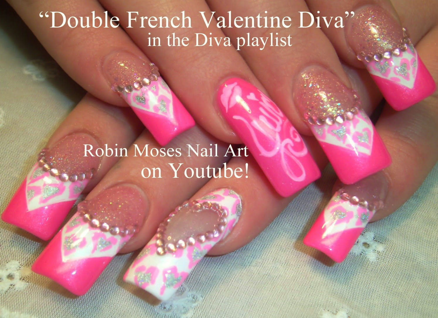 Robin moses nail art monster energy drink nails monster nails pretty in pink isnt she pretty in pink isnt she prinsesfo Image collections