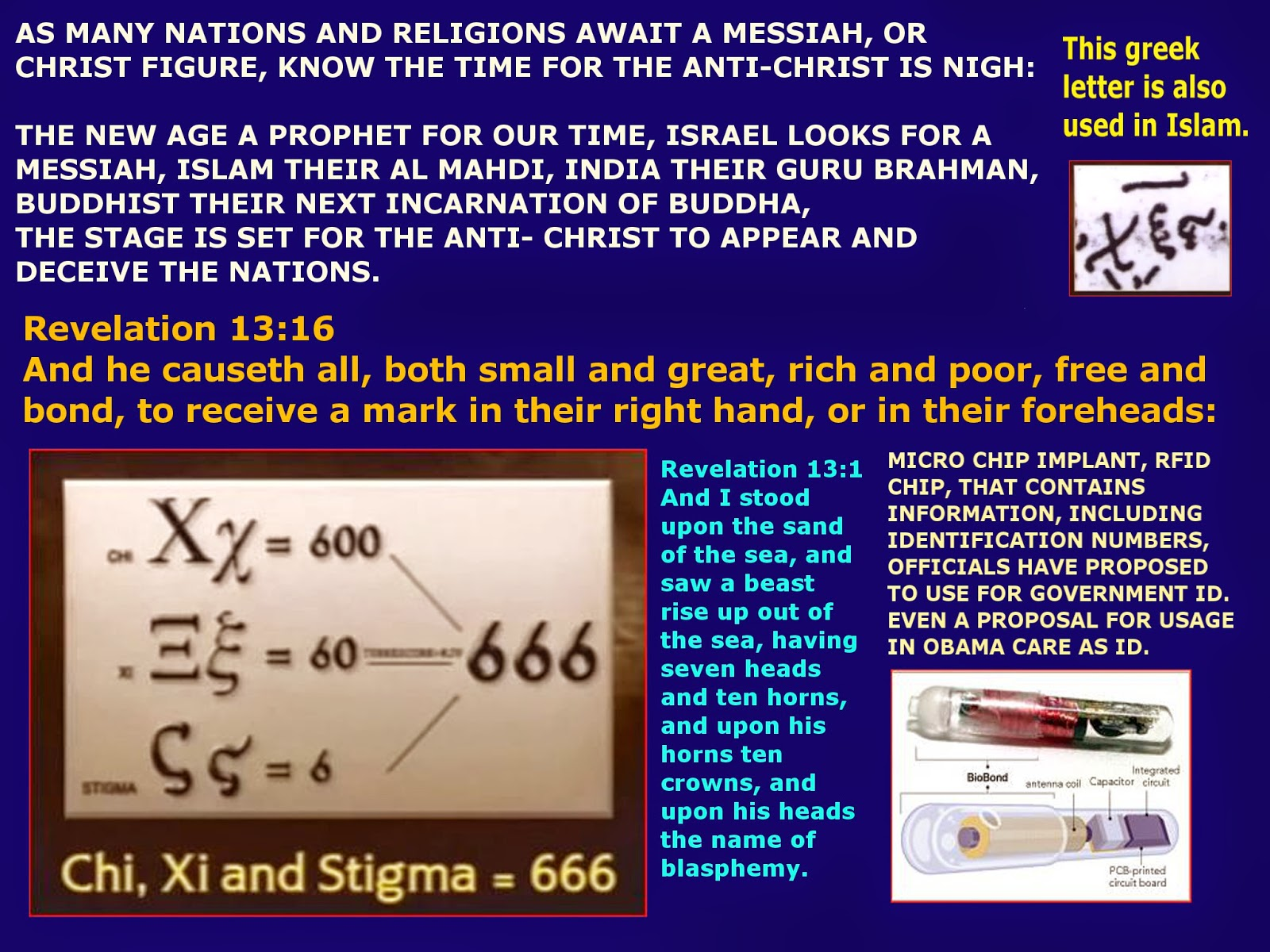 Carrie geren scoggins political newsletter end times prophecy attaching photos on the mark of the beast symbols and one is used in islam will it be their al mahdi end times bible prophecy channel by carrie geren buycottarizona
