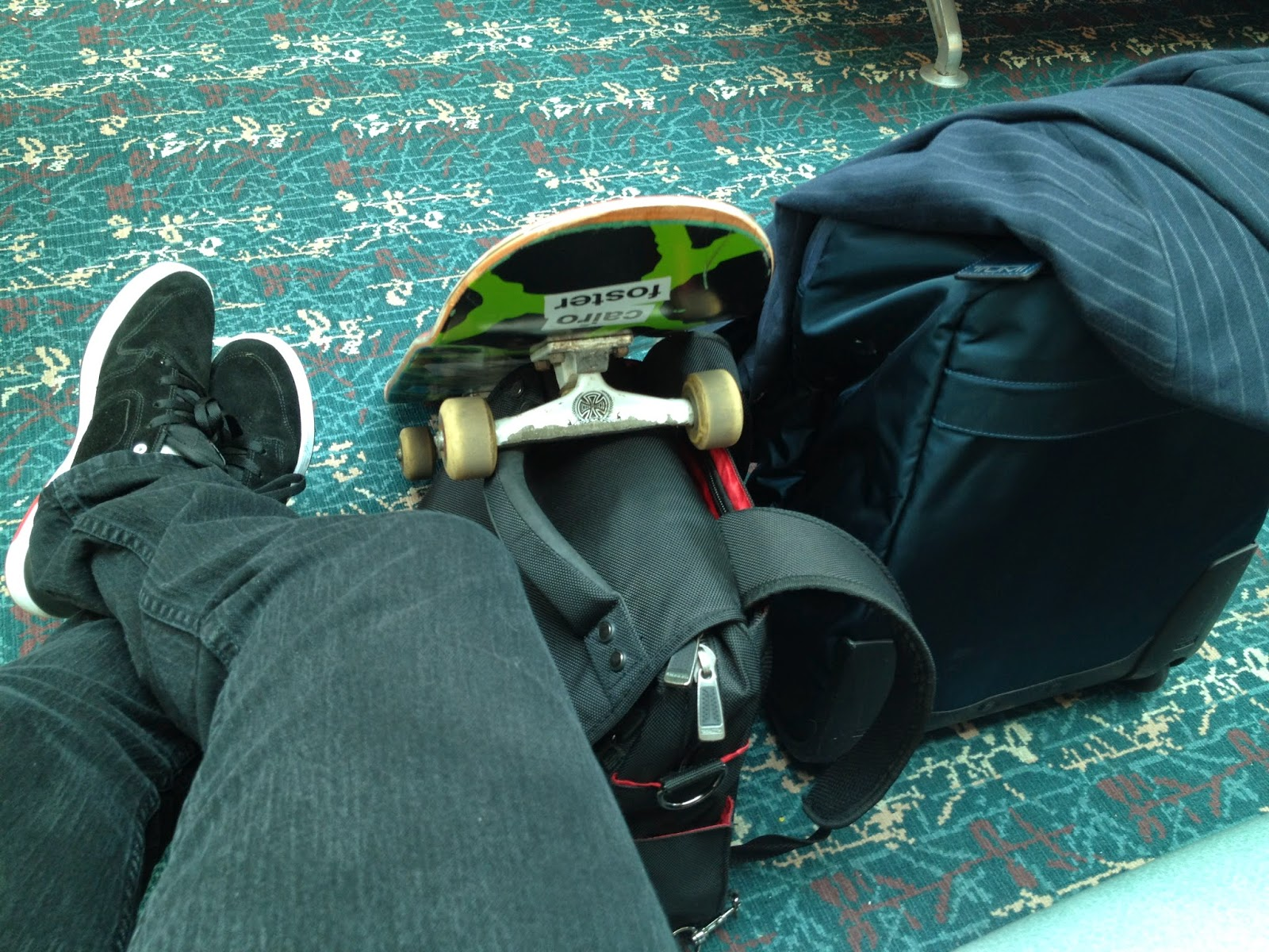 Travel Skateboard Blazer Computer