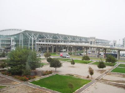 Aeropuerto Arturo Merino, Santiago de Chile, Chile, vuelta al mundo, round the world, La vuelta al mundo de Asun y Ricardo