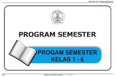 Program Semester 1 Kelas 1-6 SD
