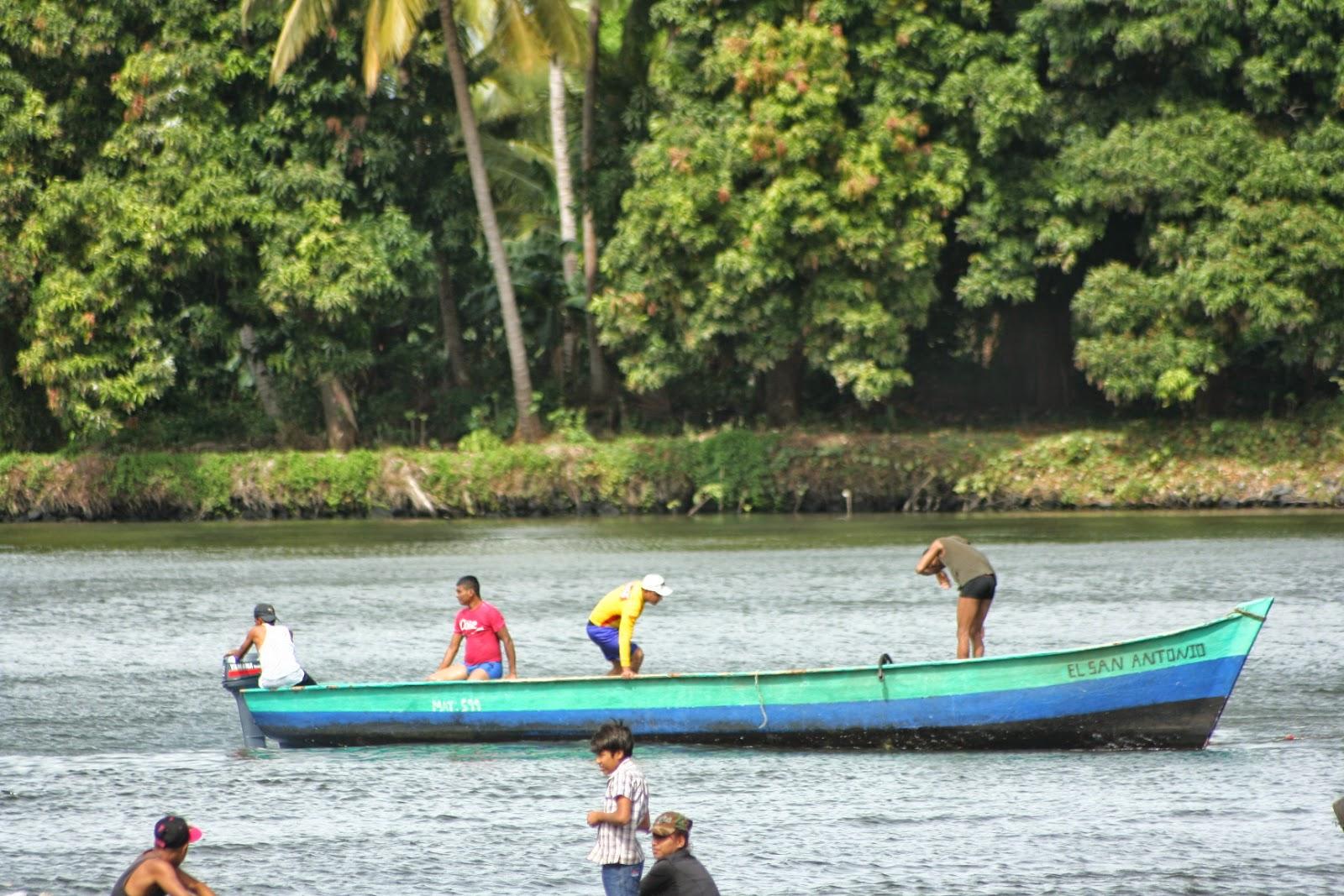 Escacez de peces en la Isla de Ometepe