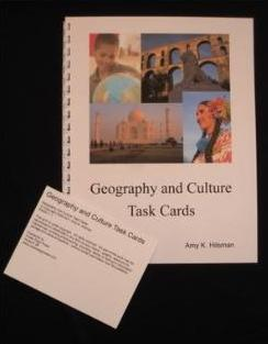 Creek Edge Press Geography Task Cards