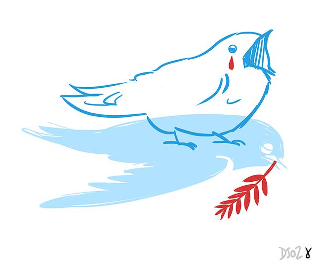 l'oiseau de la liberté est mort