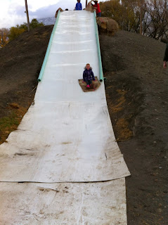 Field Trip Giant Slide at Corn Maze