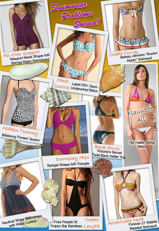 Bathing suits for your body type