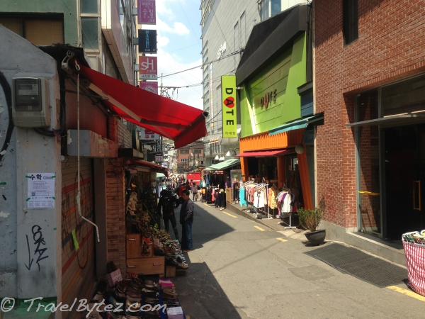 Ewha Women's University Fashion Street Seoul (South Korea)