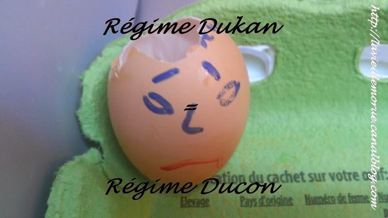 Le Régime Dukan (ou Ducon)  Oh bah mince alors !