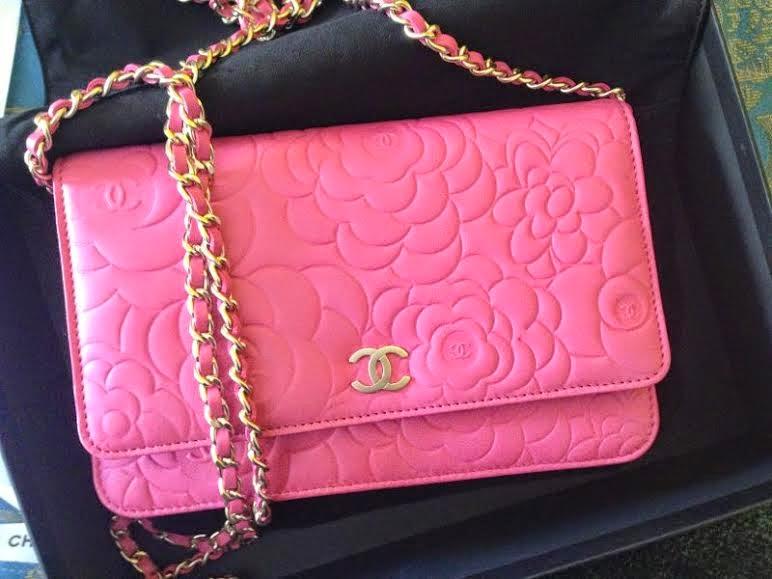 Chanel Camellia Woc Price 2014 Chanel Lambskin Camellia Woc