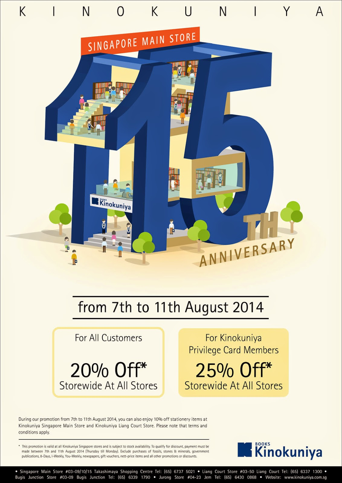 Kinokuniya Singapore promotion