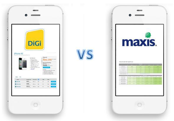 digi versus maxis