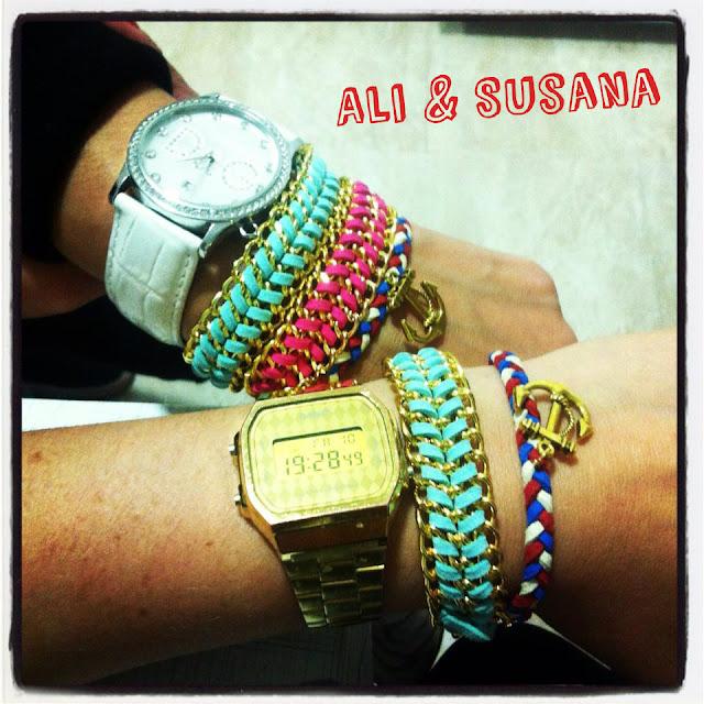 Pulseras Marineras y ADN Happy Uky handmade