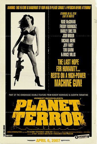 Planet Terror (2007) Movie Review - YouTube