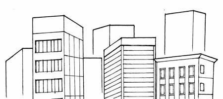 Sutori Dibujo de escenarios 2  Cmo dibujar casas y edificios