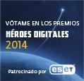 Vótame para Héroes Digitales