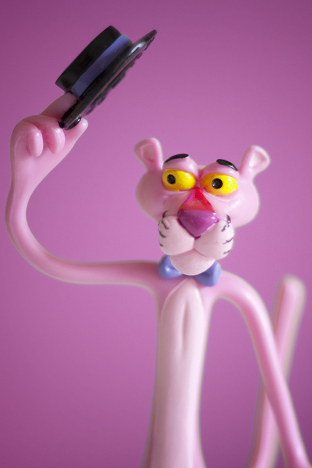pink panther wallpaper cell phone