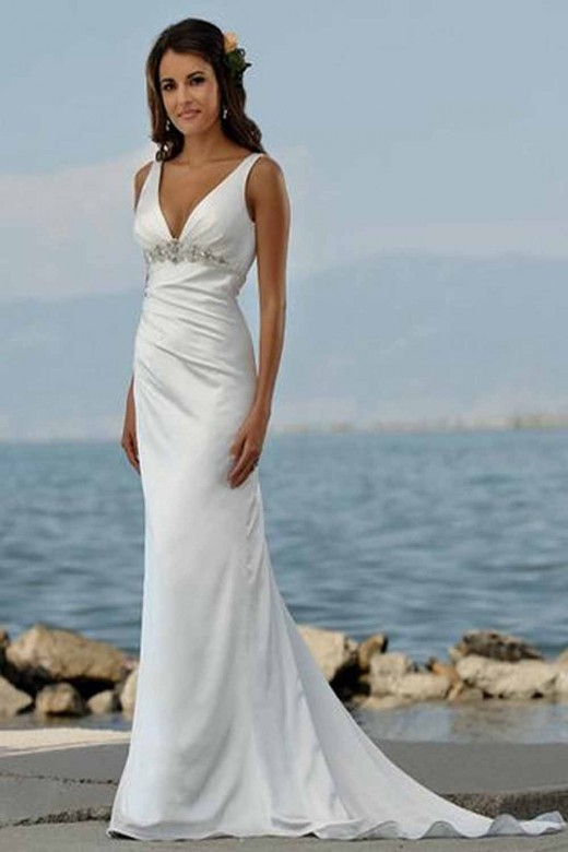 beautiful beach wedding dresses summer 2012