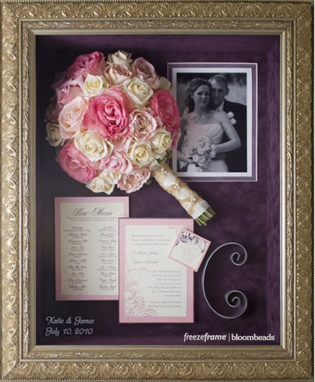 Frame Your Wedding Flowers Columbus Flower Preservation