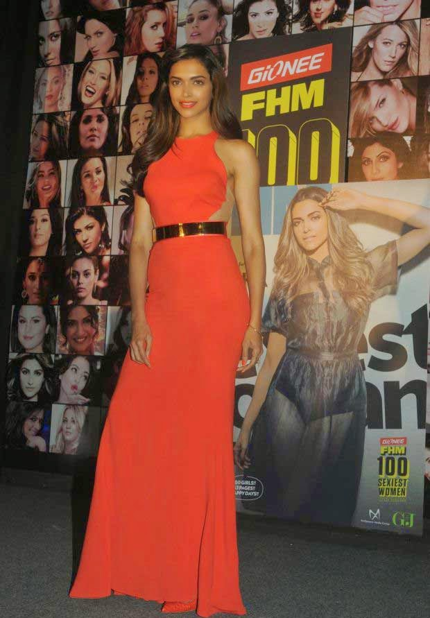 Deepika Padukone at Gionee FHM 100 Sexiest Women in the World 2014 Party