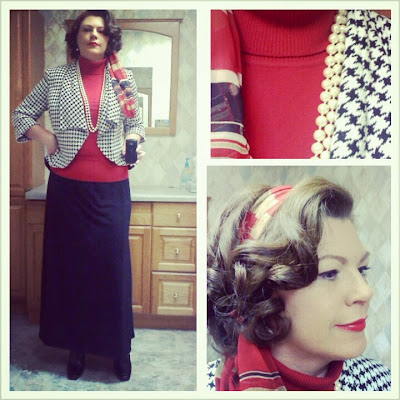 Red, Black, and Houndstooth