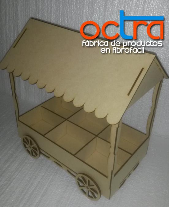 Noviembre 2014 octra fibrof cil artesan as y manualidades for Carrito bar de madera