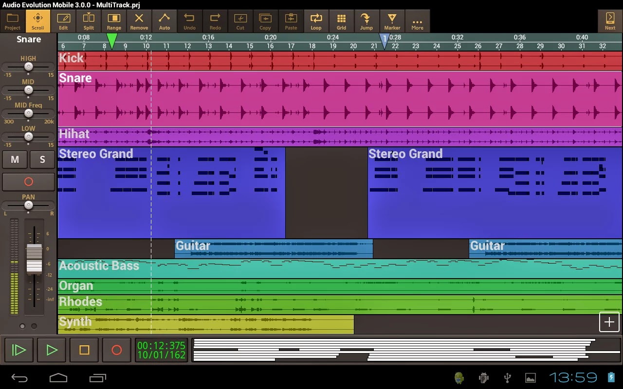 Audio Evolution Mobile DAW v3.0.5