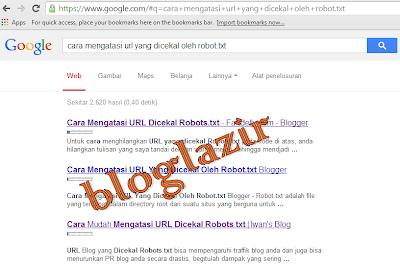 blogger-tolol-mengatasi-url-dicekal-bloglazir.blogspot.com