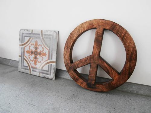Untersetzer Küche Fliese Peace-zeichen